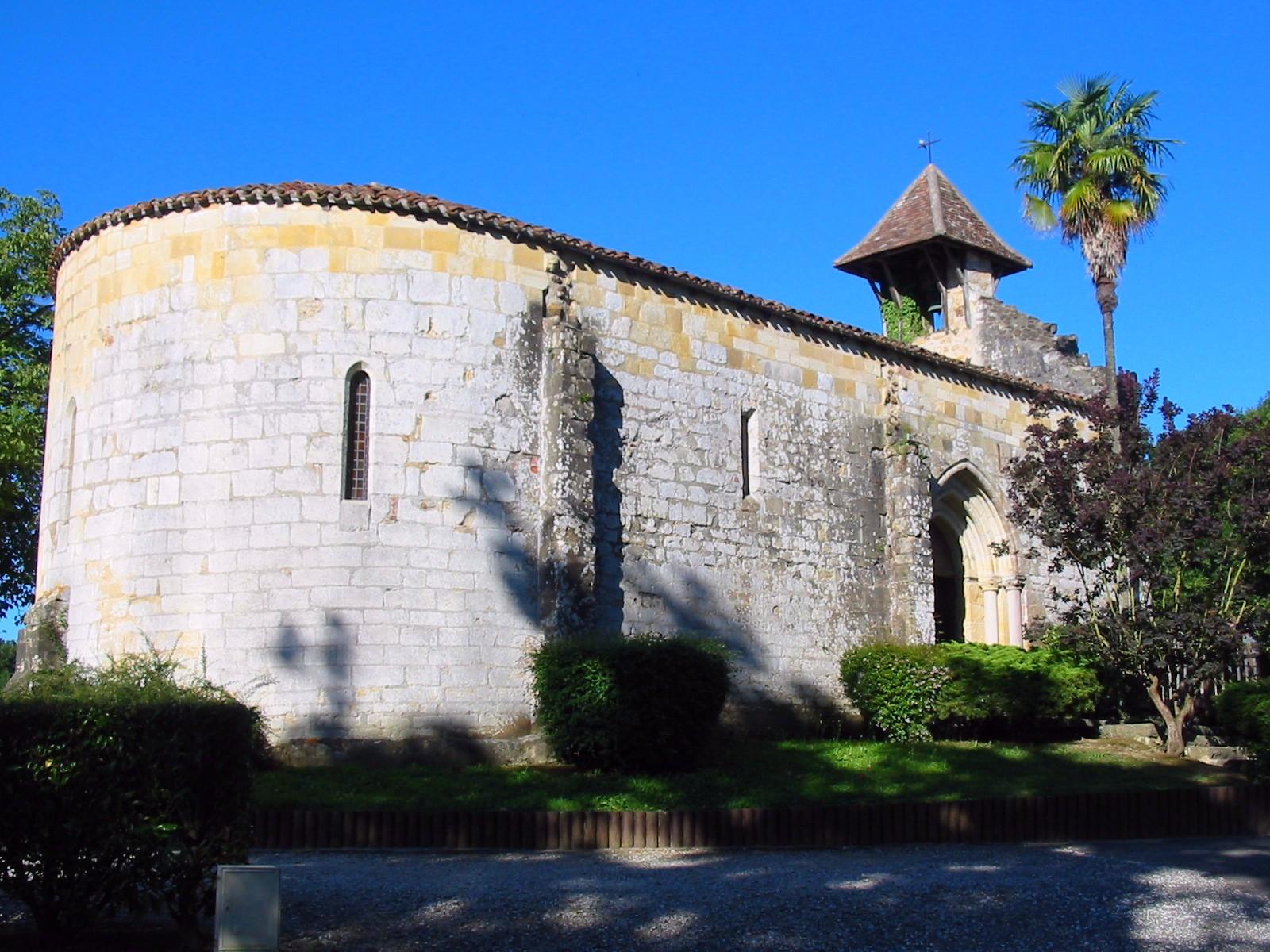 Arthez - Chapelle de Caubin (MH 12e siècle)